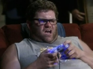 "Seriously, this is the first pic of a person I got when I googled ""typical gamer"""