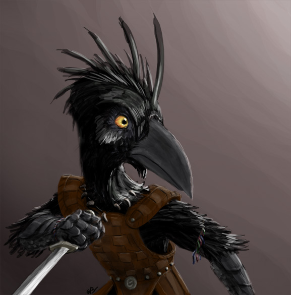 This is a Kenku - Kraww!