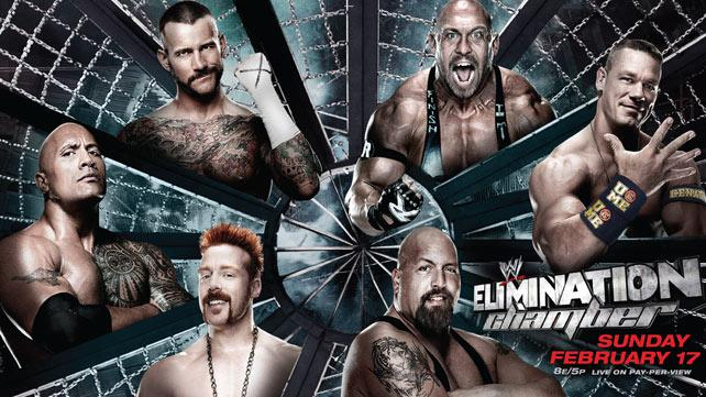None of these men were actually in the Elimination Chamber
