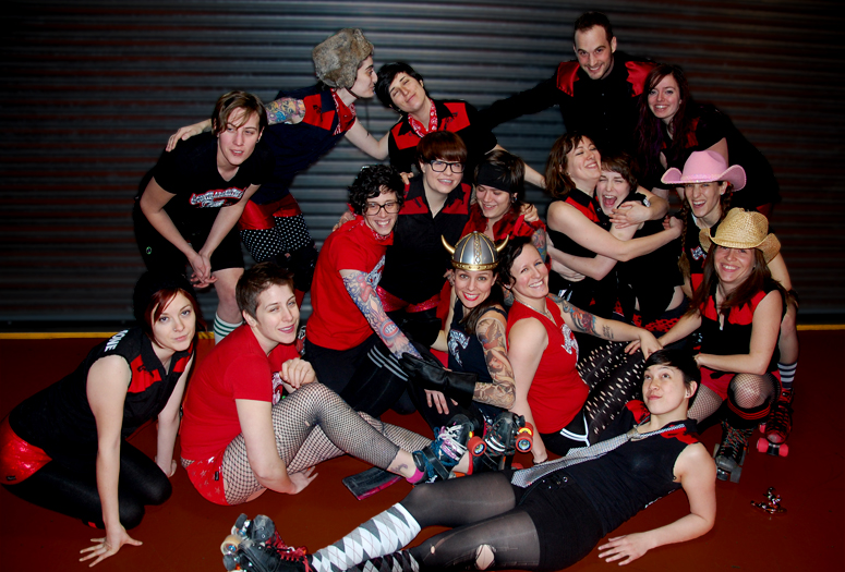 photo courtosy of mtlrollerderby.com