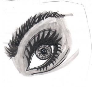 Weird Eye Sketch